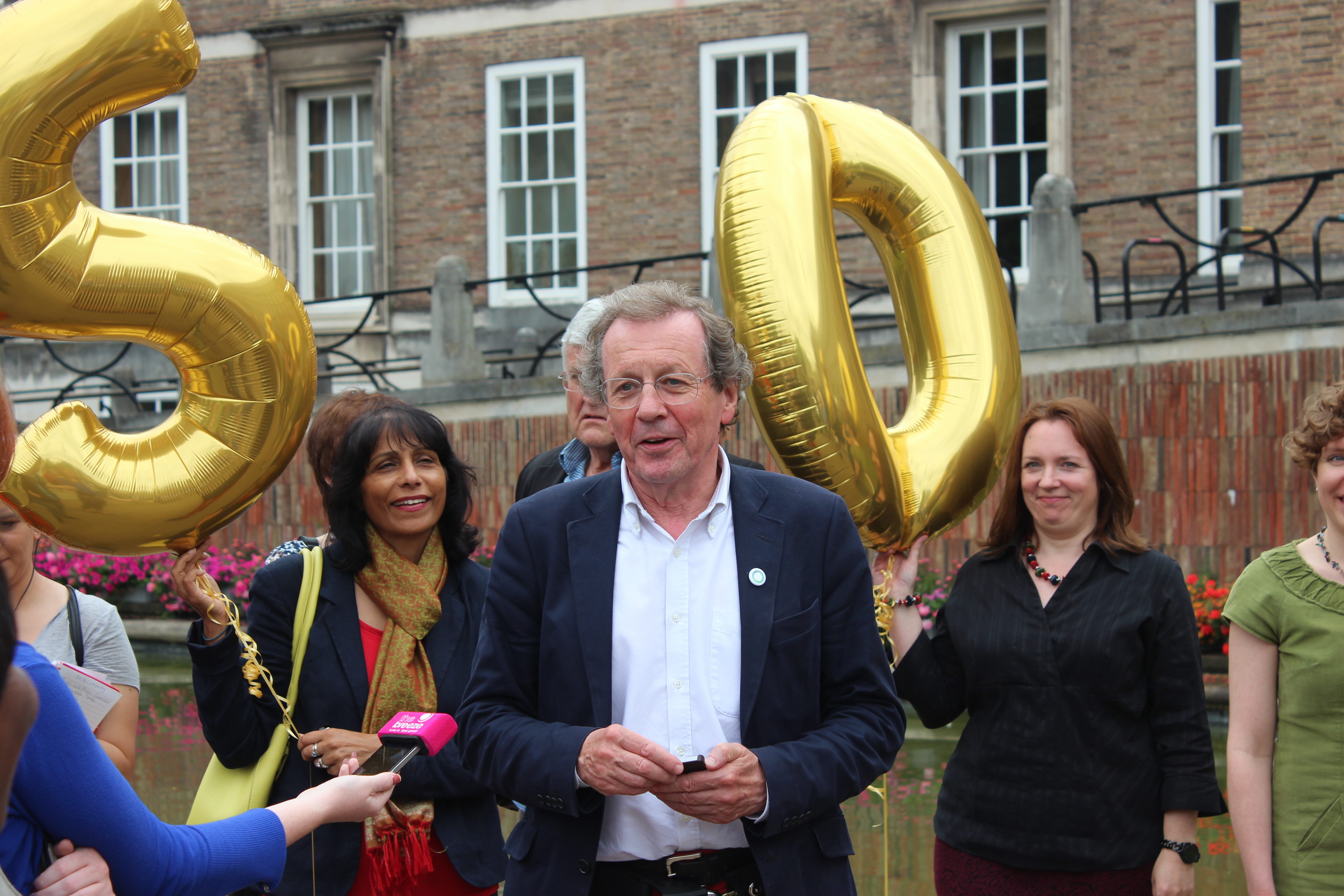 The launch of bristol s 50 50 campaign why we are fighting for