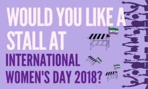 International Women's Day: Call for Stalls!