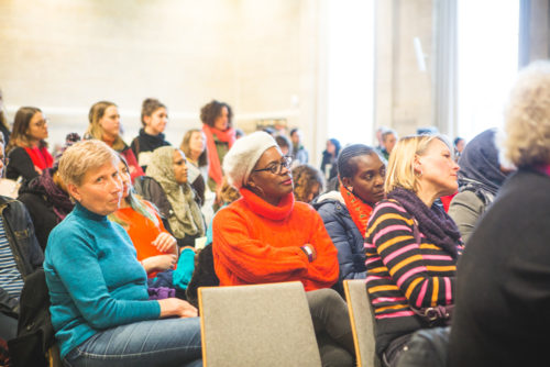 A warm, welcoming space in a cold, snowy city – International Women's Day celebrations 3rd March 2018