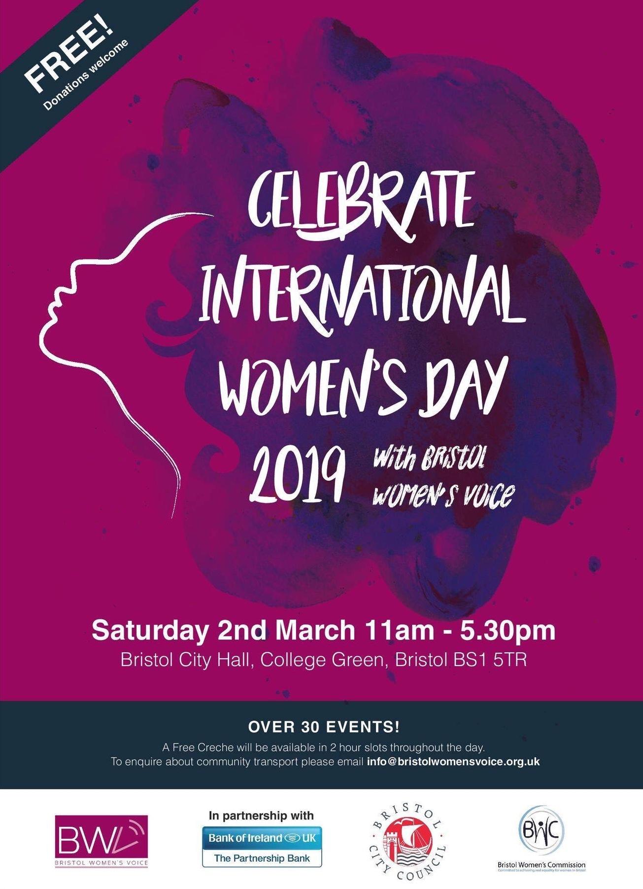 International Womens Day 2019 Bristol Womens Voice