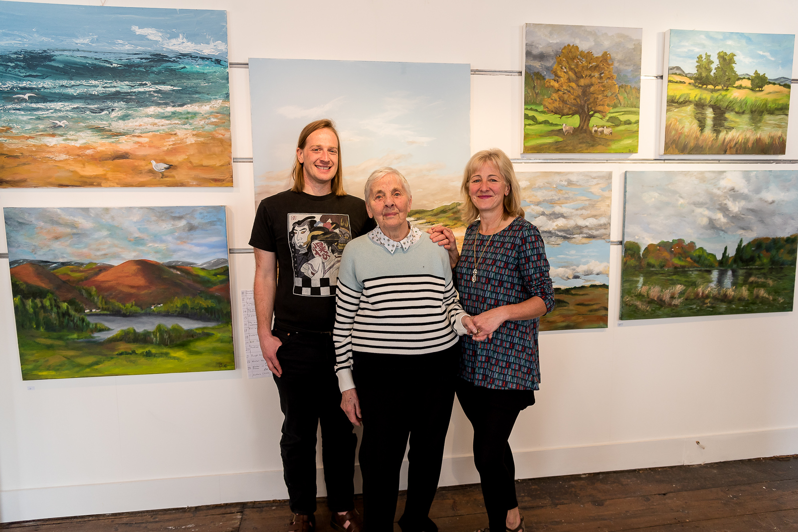'Paint and Clay Three' Exhibition at the Guild Gallery